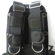 shoulder belts with soft padding