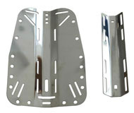 stainless steel backplate