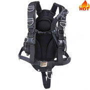 sidemount double bladder 25lb technical diving bcds
